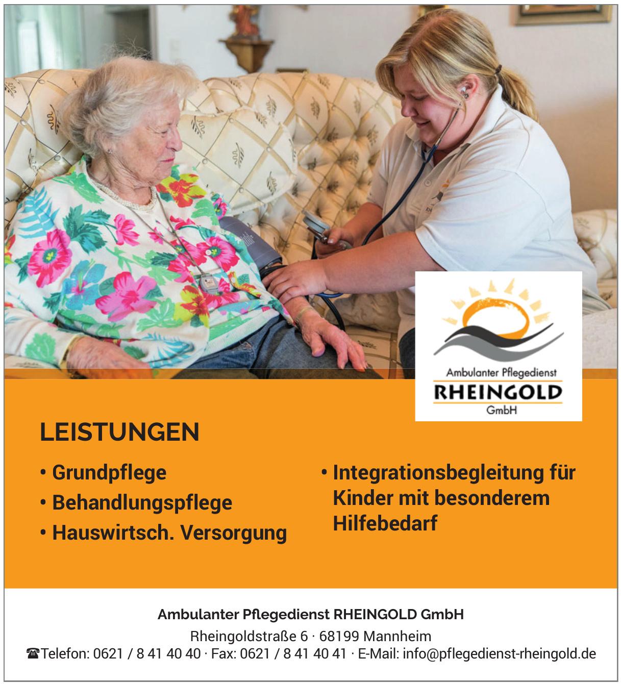 Ambulanter Pflegedienst Rheingold GmbH