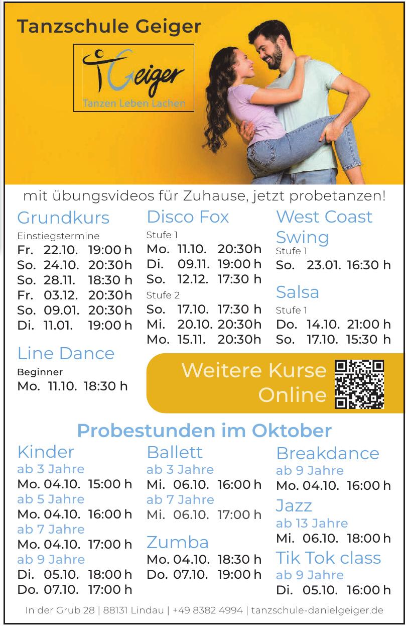 ADTV Tanzschule Geiger