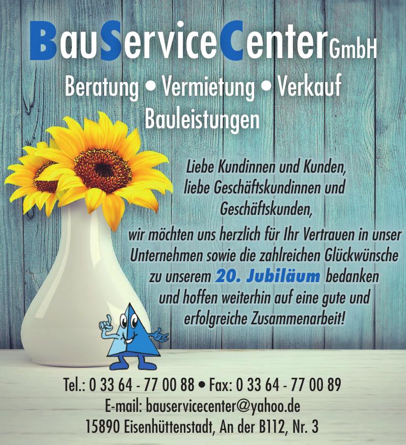 BauServiceCenter GmbH
