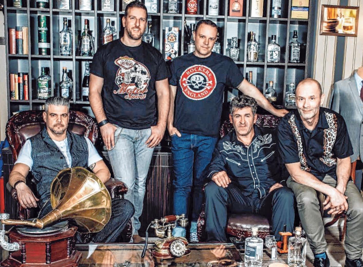 Bei der Kneipentour spielen die Primebeats Rockabilly-Klassiker.