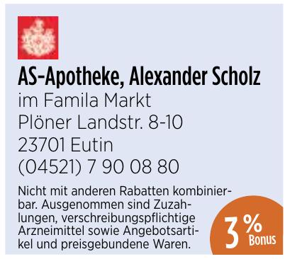 AS-Apotheke, Alexander Scholz