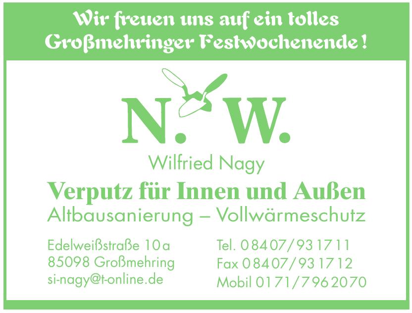 N. W. Wilfried Nagy Altbausanierung – Vollwärmeschutz