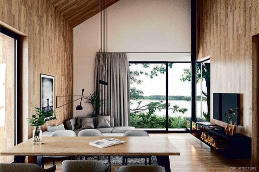Landhausvilla am See inkl. Grundstück ab 125.000 €