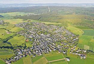 Osburg – ein schöner Ort im Landkreis Trier-Saarburg Foto: www.portaflug.de