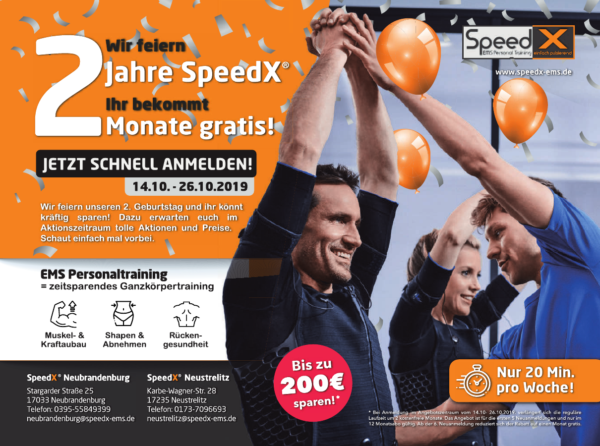 SpeedX Neubrandenburg