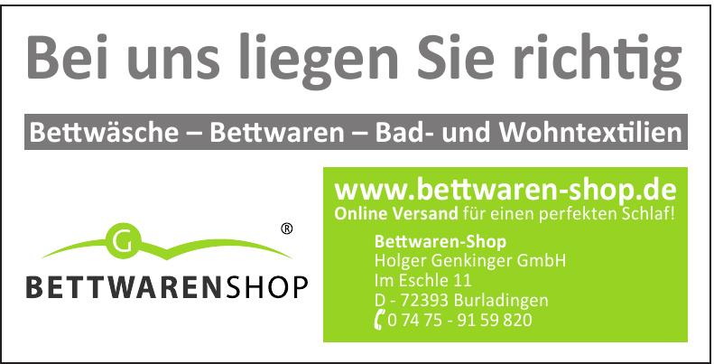 Bettwaren-Shop Holger Genkinger GmbH