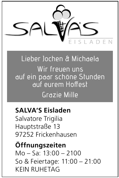 Salvas Eisladen