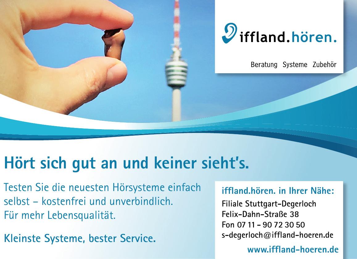 iffland.hören. Filiale Stuttgart-Degerloch