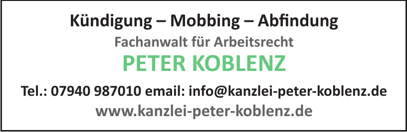 Peter Koblenz