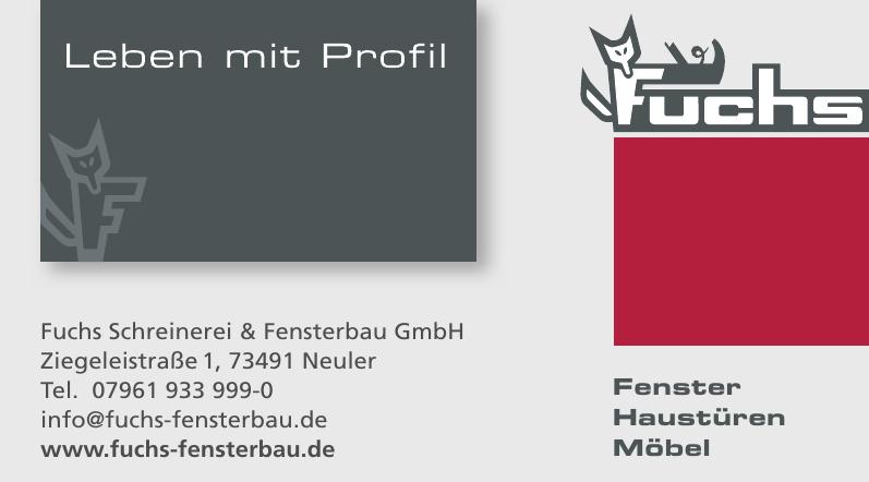Fuchs Schreinerei & Fensterbau GmbH
