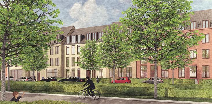 Das klassische Einfamilienhaus könnte wegen Flächenknappheit zum Auslaufmodell werden Image 10