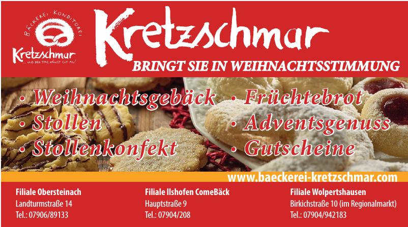 Bäckerei Konditorei Kretzschmar