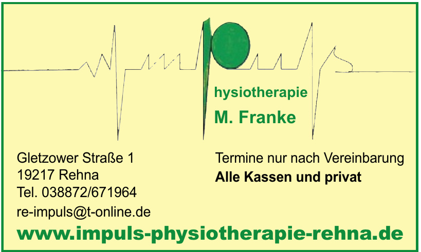 Physiotherapie M. Franke