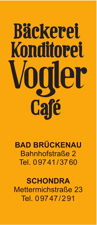 Bäckerei Konditorei Café Vogler