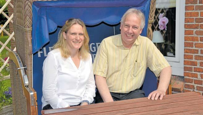 Nadja Henningsen (Catharinenberg) und Karsten Rocholl (Hotel Carstens) stehen ihren Auszubildenden mit Rat und Tat zur Seite. FOTO: REG