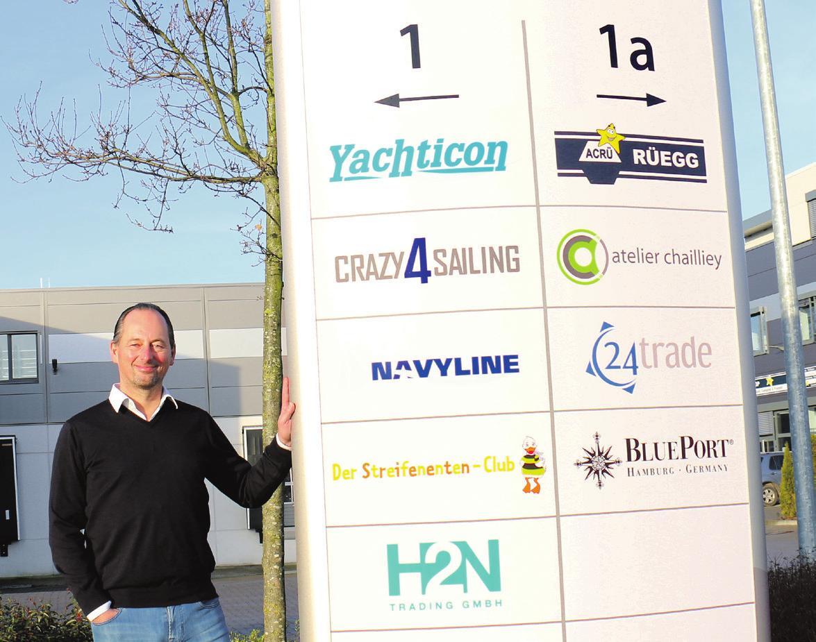 Oliver Nagel führt ein weltweit handelndes Unternehmen...
