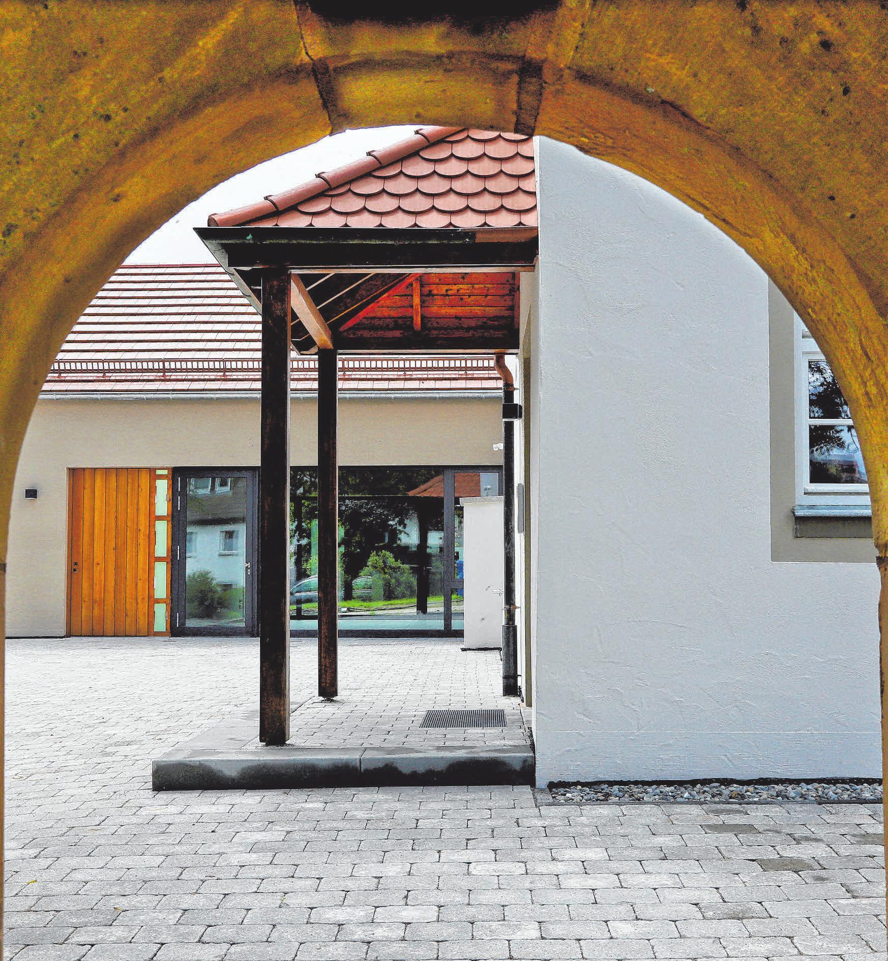 Altes bewahren und neues schaffen. Das ist beim erweiterten Dalkinger Gemeindehaus bestens gelungen. FOTOS: HAFI