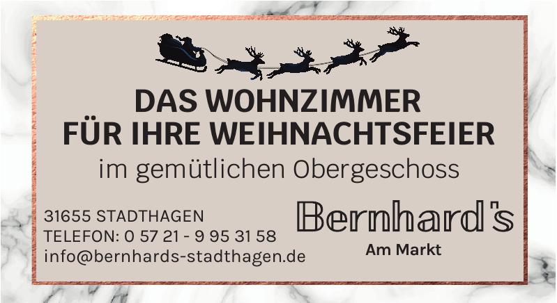 Bernhard's am Markt