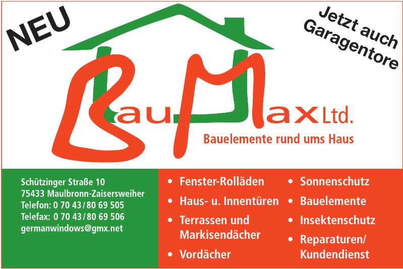 Bau Max Ltd.