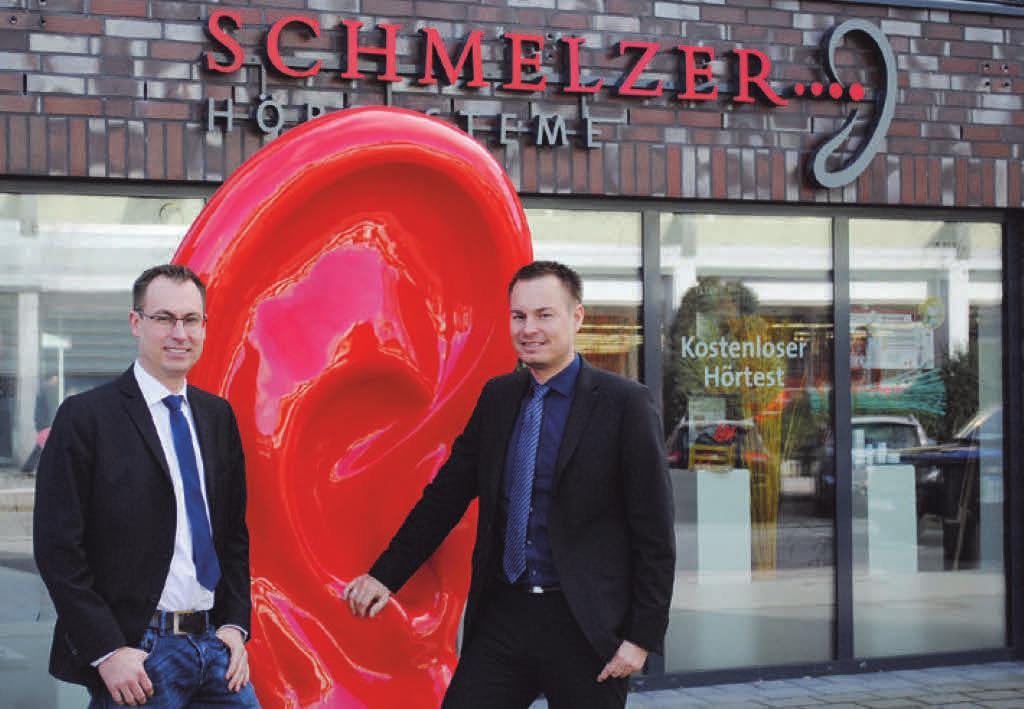 Christoph und Felix Schmelzer bedanken sich recht herzlich bei allen treuen und neuen Kunden und Freunden.