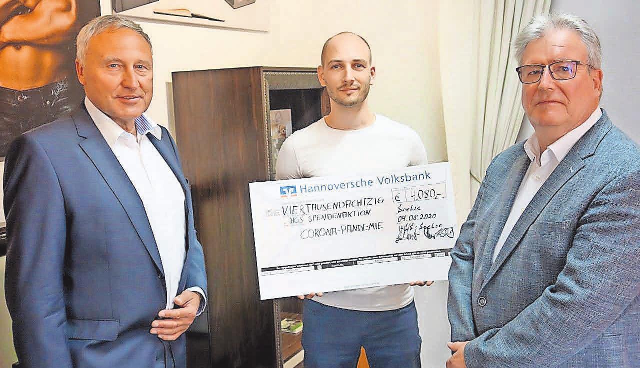 Mit einer Spendenaktion versuchte der HGS-Vorstand zu Beginn der Pandemie, betroffenen Unternehmern zu helfen.