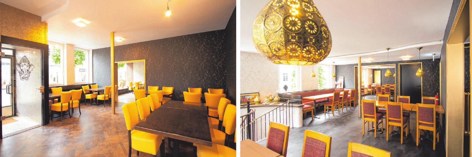 In den Räumlichkeiten des Restaurants herrscht eine gemütliche Atmosphäre. FOTOS: CORINNA HOFFMANN