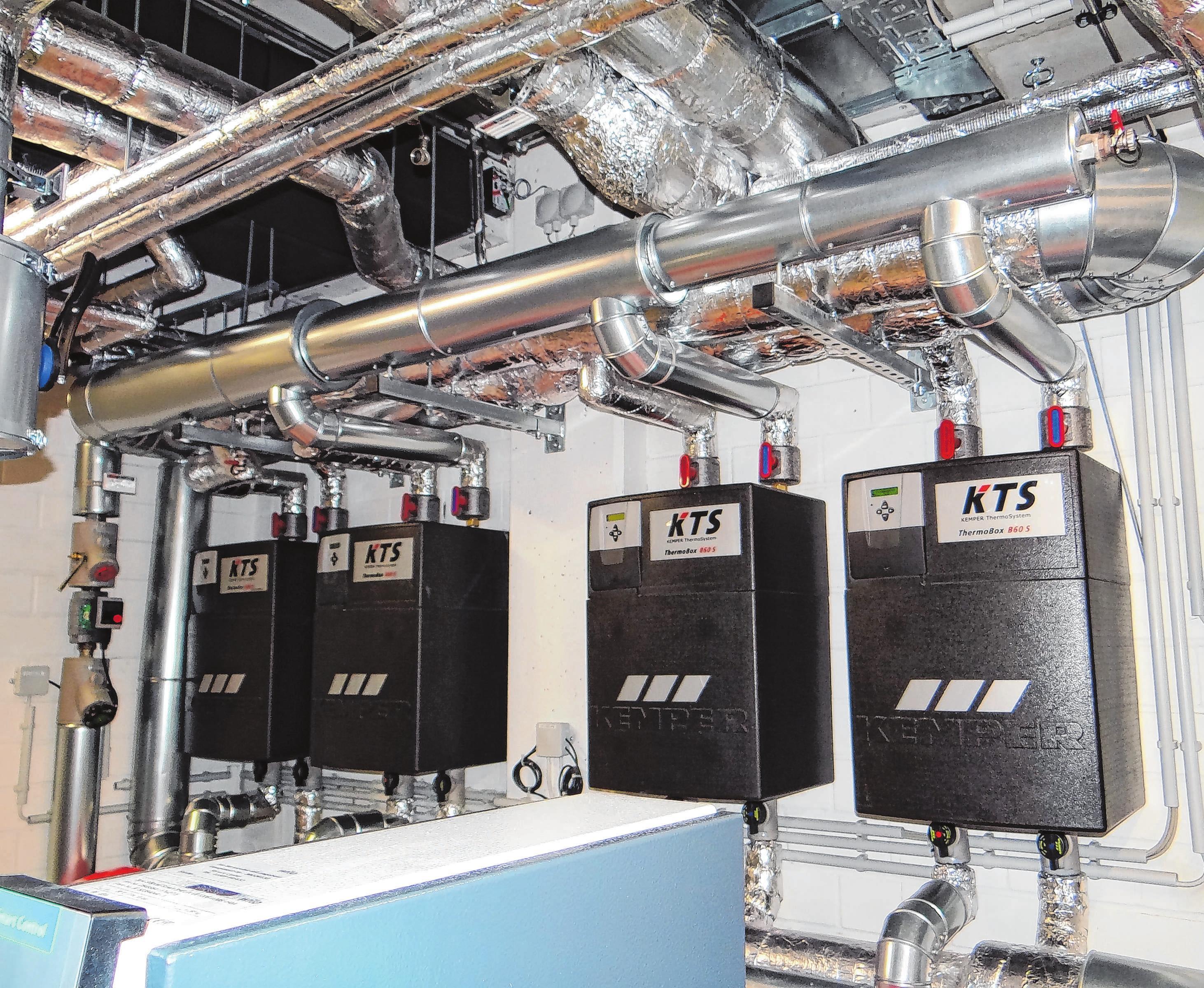 Die KDH Energie-Versorgungstechnik GmbH hat im Meininger Hotel an der East Side Gallery in Berlin auch die Heizungsund Klimatechnik installiert. Der Betrieb arbeitet bei Großaufträgen für bundesweit tätige Bauunternehmen. Foto: KDH