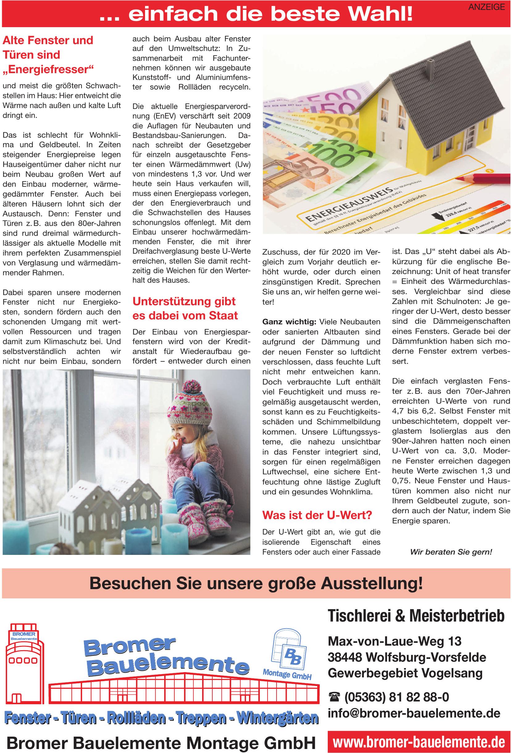 Bromer Bauelemente Montage GmbH