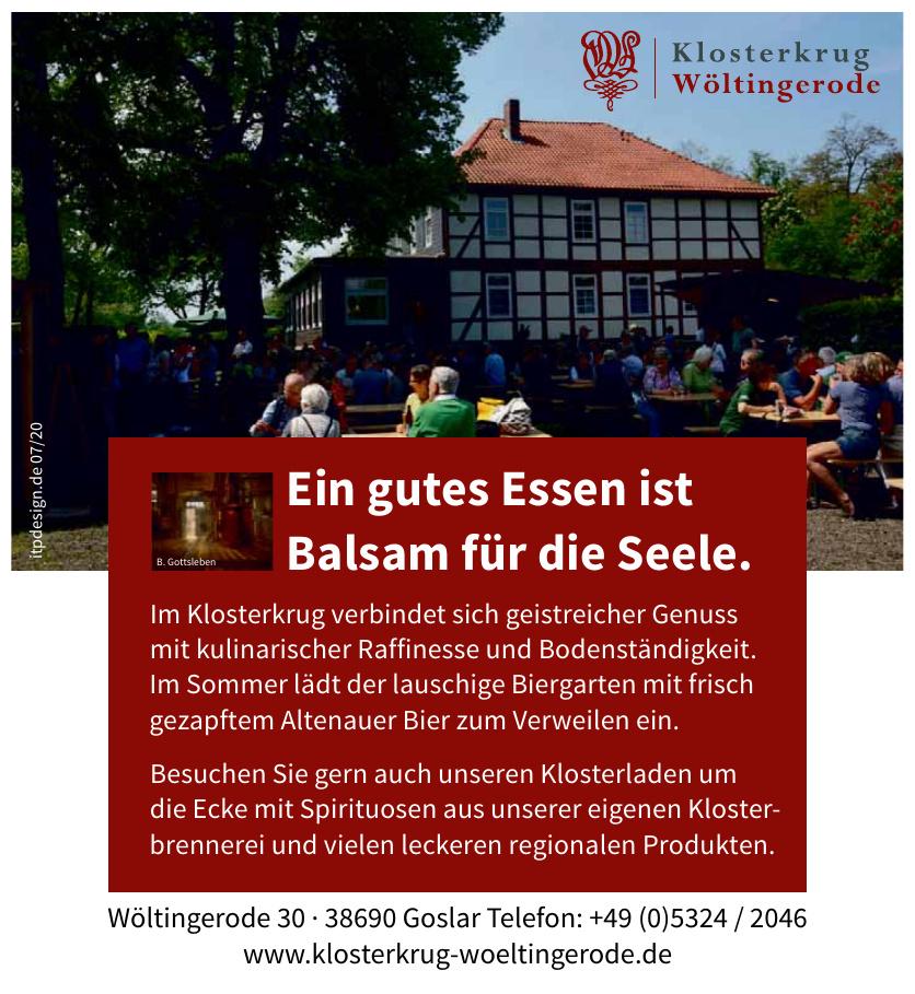 Klosterkrug Wöltingerode