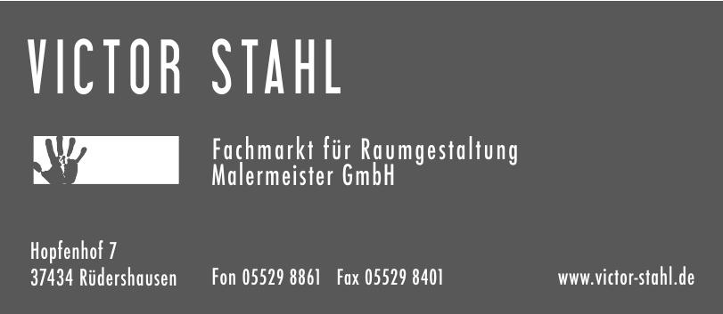 Victor Stahl Fachmarkt für Raumgestaltung Malermeister GmbH