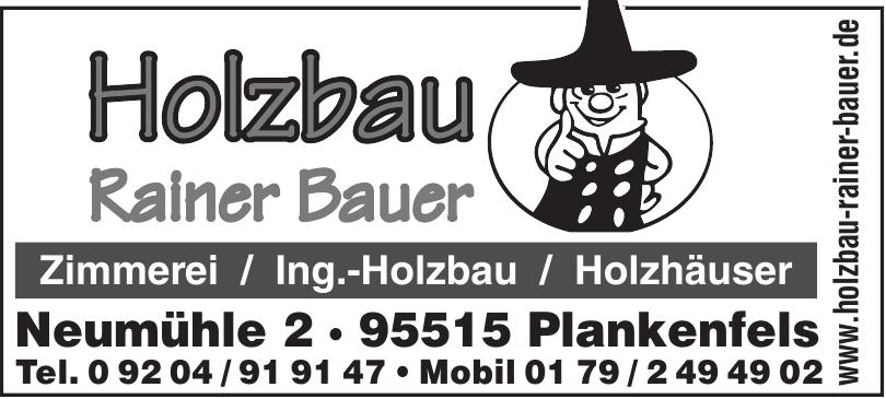 Holzbau Rainer Bauer