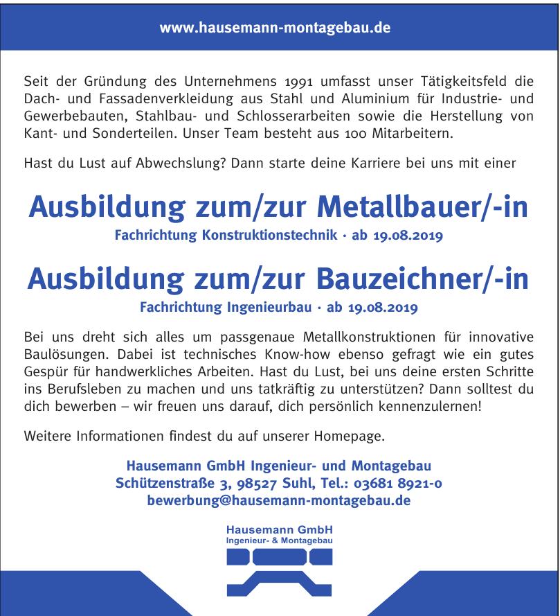 Hausemann GmbH Ingenieur- und Montagebau