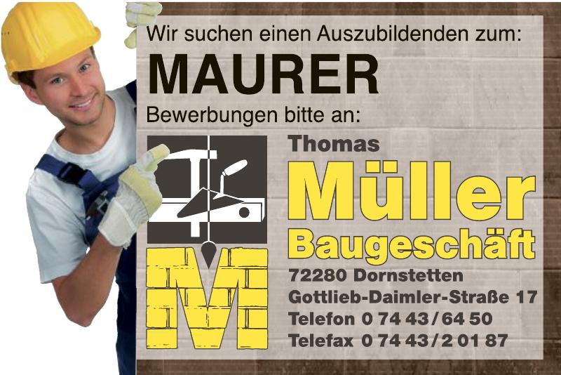 Thomas Müller Baugeschäft