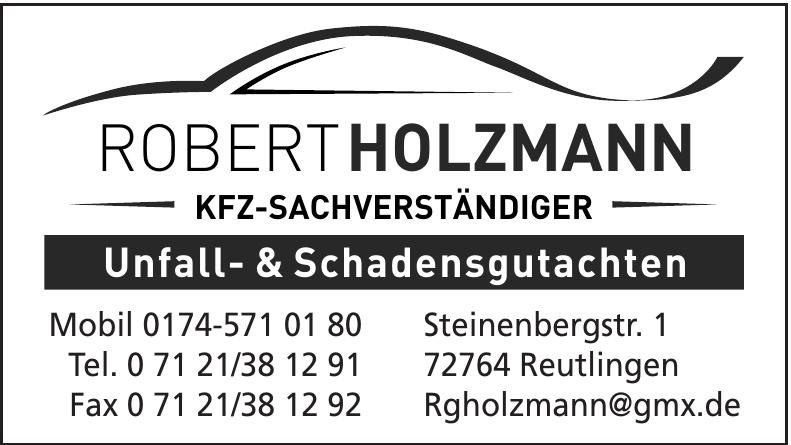 Robert Holzmann KFZ- Sachverständiger