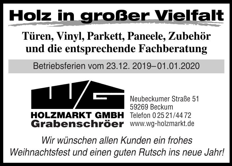 WG Holzmarkt GmbH
