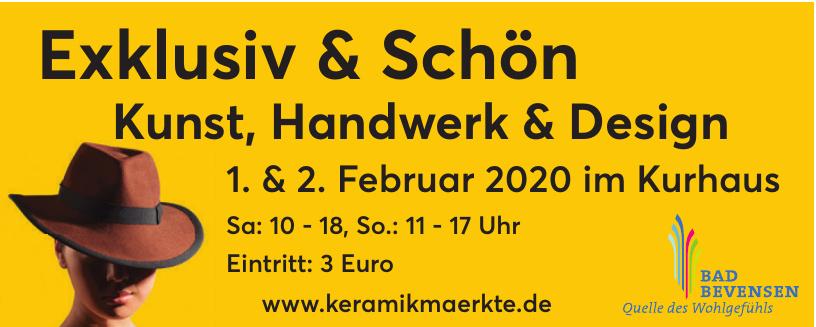 Exklusiv & Schön Kunst, Handwerk & Design