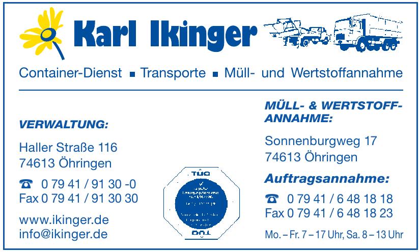 Karl Ilkinger