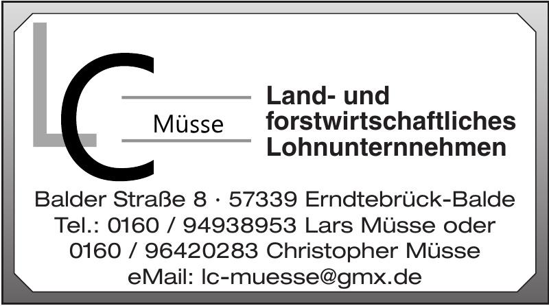 LC Müsse Land- und forstwirtschaftliches Lohnunternnehmen