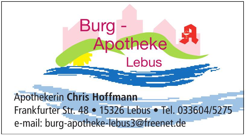 Burg - Apotheke Lebus