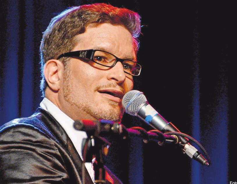 Christian Mädler bietet eine gewohnt charmante Show mit viel Witz, Romantik und bekannten Songs.