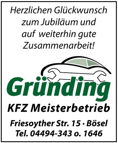 Kfz-Meisterbetrieb Gründing
