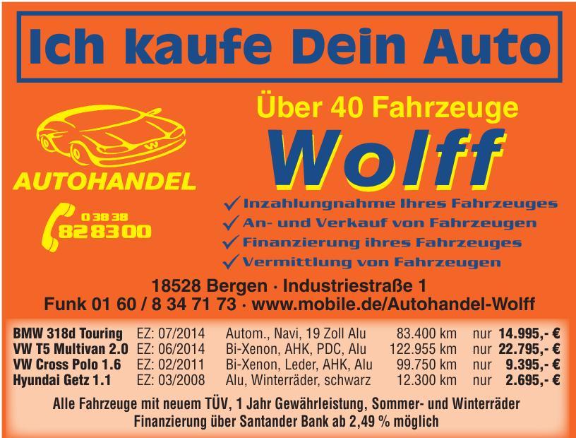 Autohandel Wolff