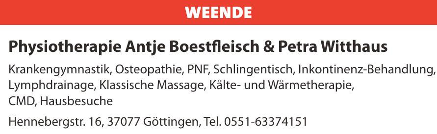 Physiotherapie Antje Boestfleisch & Petra Witthaus