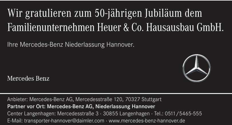 Mercedes-Benz AG, Niederlassung Hannover