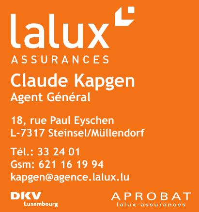 Lalux Assurances Claude Kapgen