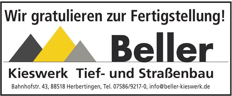Beller Kieswerk Tief- und Straßenbau