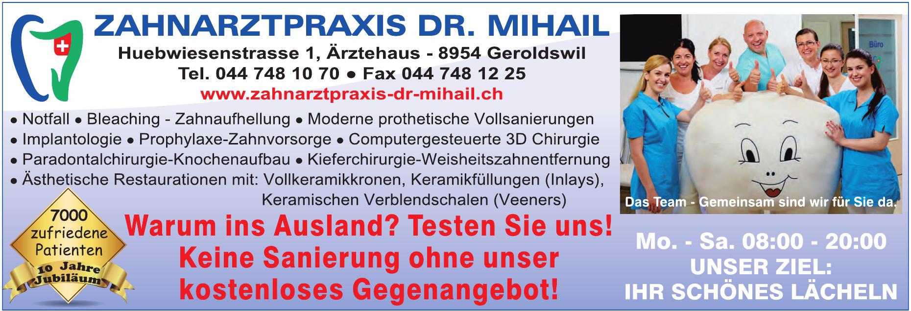 Zahrarztpraxis Dr. Mihail