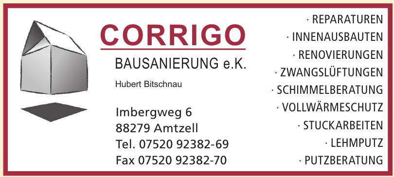 Corrigo Bausanierung e. K.