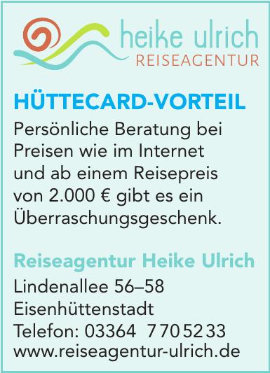 Heike Ulrich- Reiseagentur
