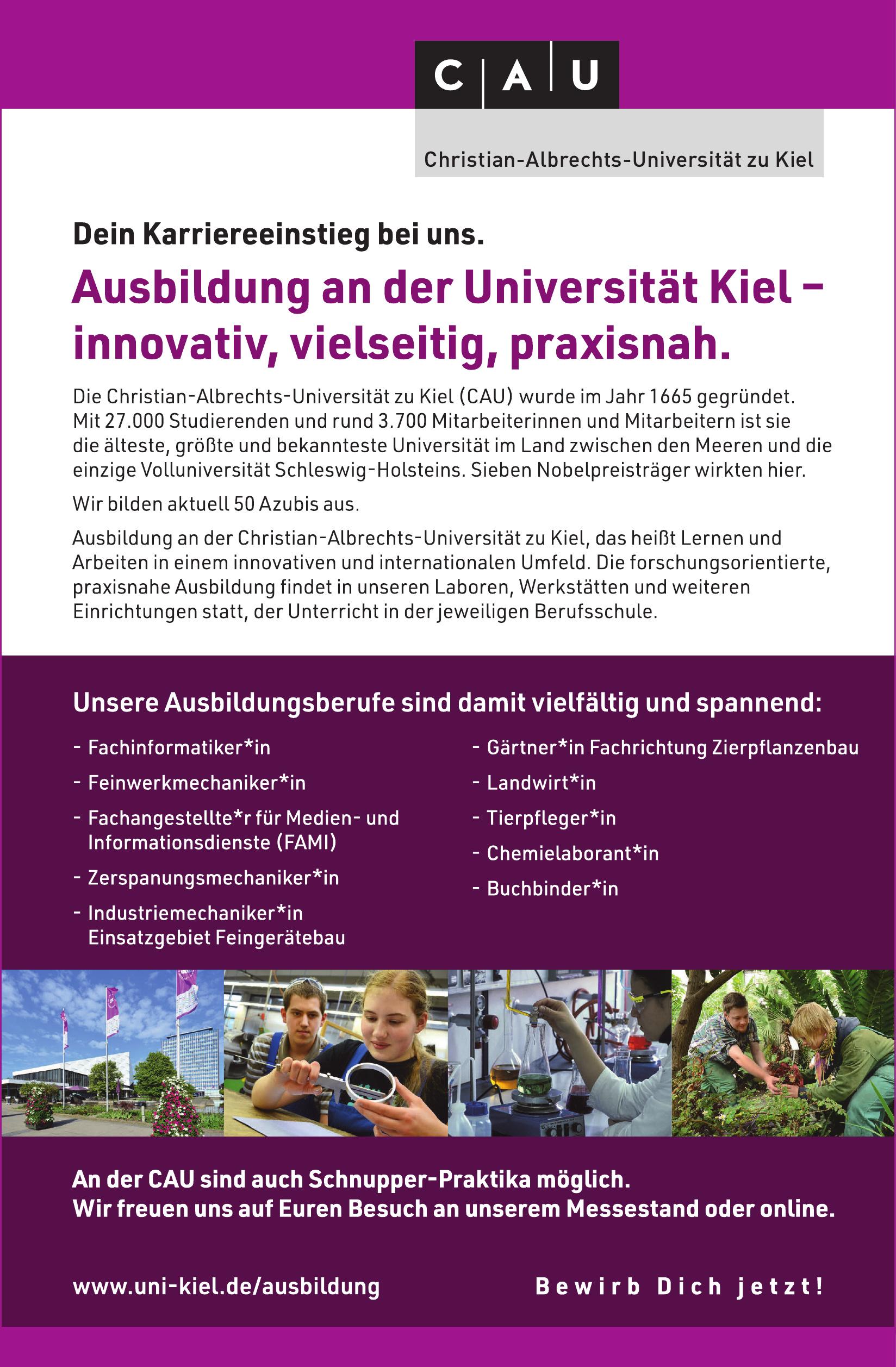 CAU Christian-Albrechts-Universität zu Kiel